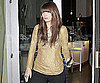 Slide Photo of Mischa Barton Getting Food in LA