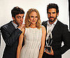 Slide Photo of Diane Kruger, BJ Novak and Eli Roth At 2010 Peoples Choice Awards