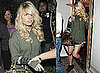 Photos of Jessica Simpson Leaving Ken Paves Salon In Shorts