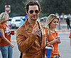 Slide Photo of Matthew McConaughey at Texas Game