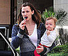 Slide Photo of Jennifer Garner and Seraphina Affleck in LA Together