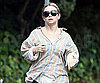 Slide Photo of Ashley Olsen Jogging in LA