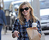 Slide Photo of Reese Witherspoon Getting Coffee in LA