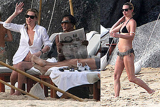 Photos of Kate Moss And Naomi Campbell Sunning in Bikinis in Thailand