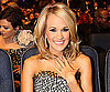 Slide Photo of Carrie Underwood Showing Off Engagement Ring at People's Choice Awards