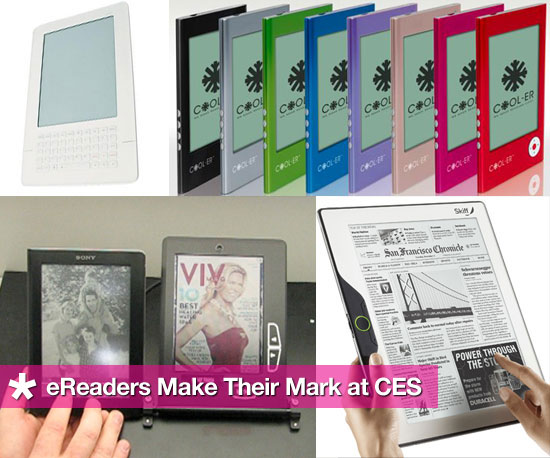eReaders Make Their Mark at CES