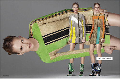 Balenciaga Spring 2010 Ad