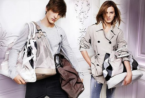 British Actress Emma Watson to Star in Burberry Spring 2010 Ads With Her Brother Alex Watson