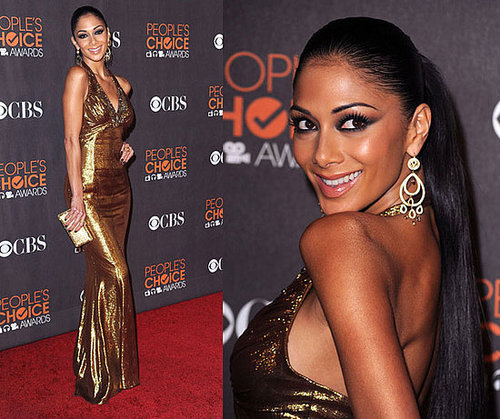 Nicole Scherzinger at 2010 People's Choice Awards 2010-01-06 18:21:00