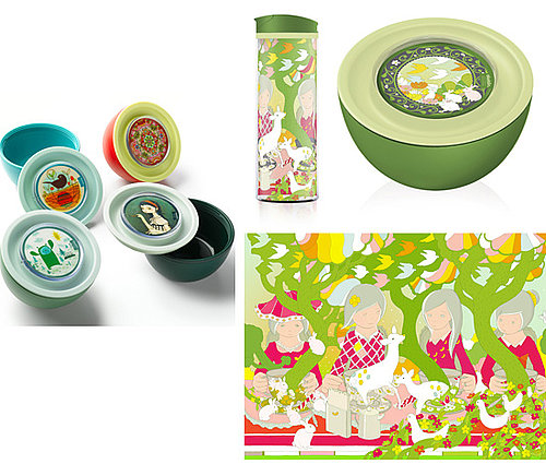 BPA-Free Aladdin Artist Series Bowls and Cups