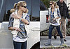 Photos of Elin Nordegren Dropping Off Sam Woods at School