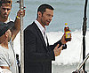 Slide Photo of Hugh Jackman Filming a Commercial in Rio