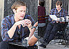 Photos of True Blood's Alexander Skarsgard Getting Lunch in LA at Joan's on Third