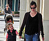Slide Photo of Jennifer Garner and Violet Affleck