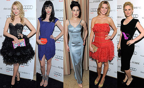 Audi Celebrates the 2010 Golden Globes Party With Dianna Agron, Dita von Teese, Anna Paquin