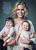 Milk Ad Featuring Rebecca Romijn and Her Twins Dolly and Charlie