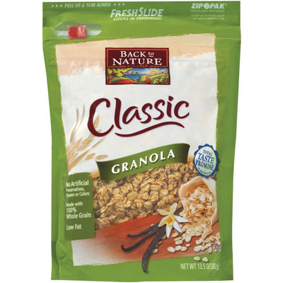 Review of Back to Nature Classic Granola