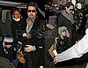 Photos of Brad Pitt And Angelina Jolie Bringing Maddox, Pax, Zahara And Shiloh to See Mary Poppins on Broadway