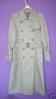 eBay Find of the Week: A Vintage Burberry Trench