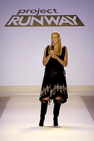 Project Runway Does Fashion Week