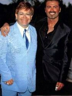 Sugar Bits - George Michael and Elton John Don't Let the Sun Go Down On Each Other
