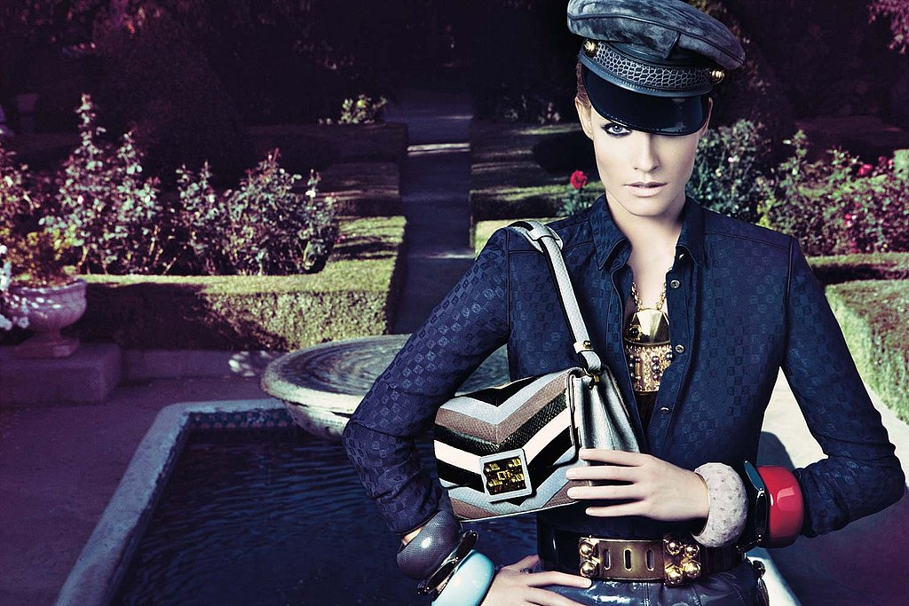 Amber Valletta Joins the Spring 2009 Supermodel Threat for Loewe