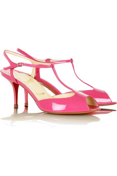Christian Louboutin Kika T-Bar Pumps $680 @ Net-a-Porter