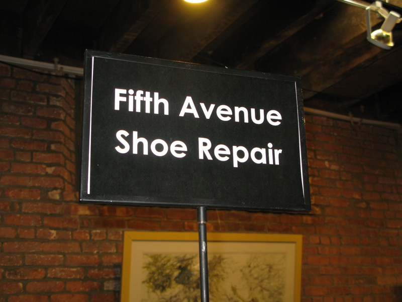 Capsule Trade Show: Fifth Avenue Shoe Repair Fall 2009