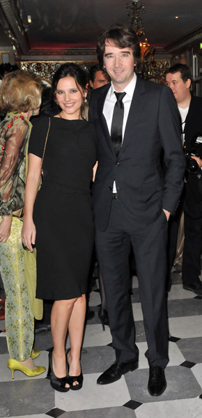Virginie Ledoyen and Antoine Arnault