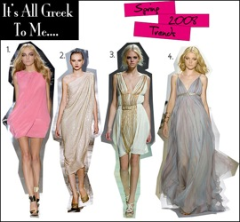 Grecian Inspired Dresses