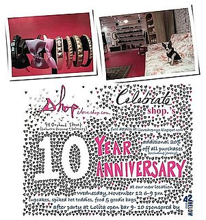 Retail Happenings: Shop Celebrates Ten Years