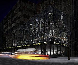 New Armani Concept Store Slated To Open February