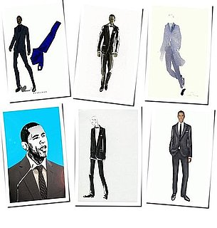 Inauguration Sketches For Barack Obama