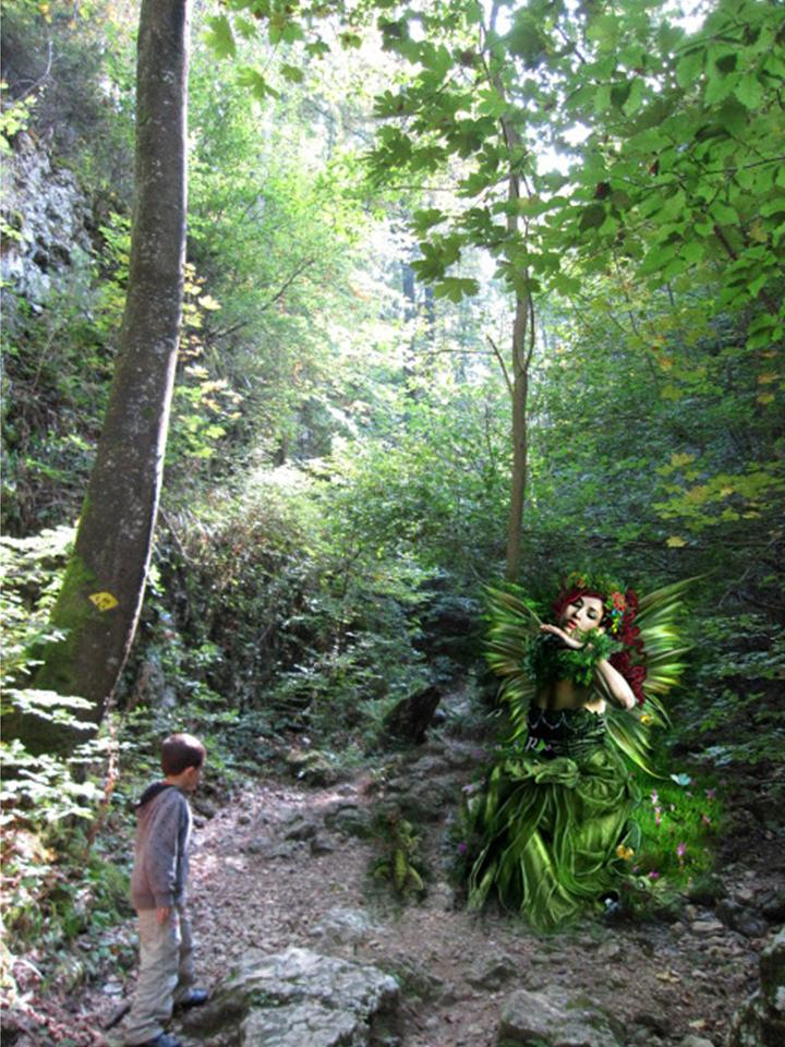 The Stunning (Mustafa sees the Goddess of the Forest)