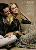 Caroline Trentini and Victor Demarchelier