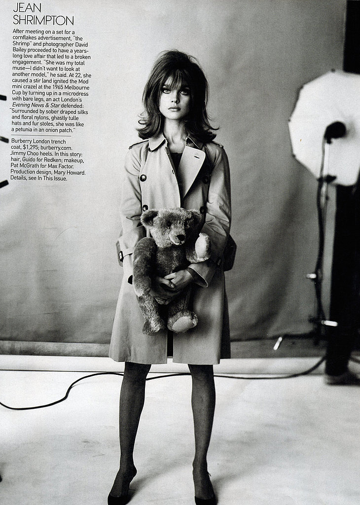 Natalia Vodianova as Jean Shrimpton