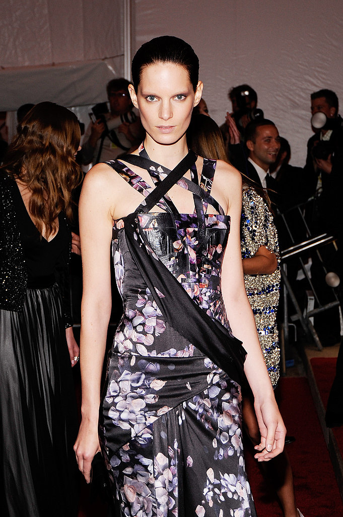 Iris Strubegger in Givenchy Couture