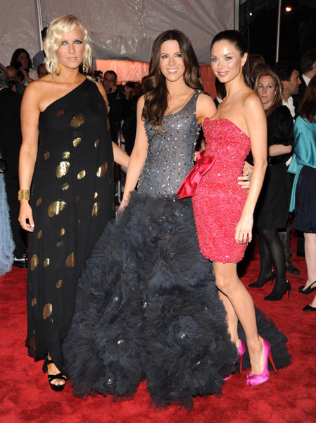 Keren Craig, Kate Beckinsale in Marchesa, and Georgina Chapman