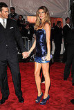 Tom Brady and Gisele Bundchen in Versace