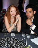 May 18: Lily Cole and boyfriend Enrique Murciano at  the Hollywood Domino tournament