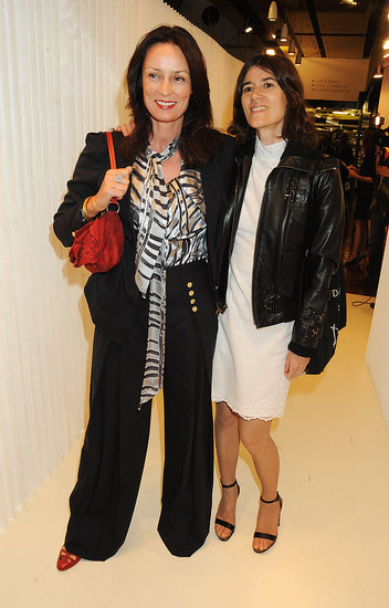 Tricia Ronane and Bella Freud