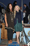 June 4: Angela Missoni and Franca Sozzani at Missoni Dinner Party