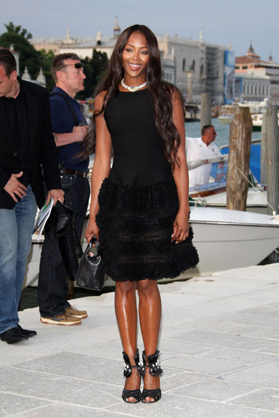 June 4: Naomi Campbell at the opening of the Francois Pinault Foundation