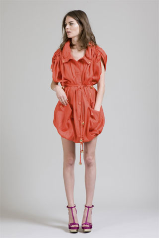 Stella McCartney Test Drives Her Spring 2010 Collection