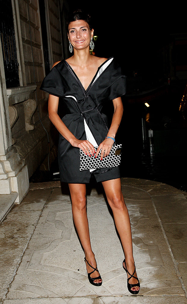June 5: Giovanna Battaglia at L'Uomo Vogue's Art Issue Opening Party