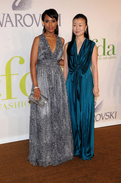 Kerry Washington in Doo.ri with Doo-Ri Chung