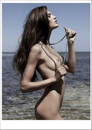 "Bianca Balti's ""Erotic Summer"" for Playboy France June/July 2009"