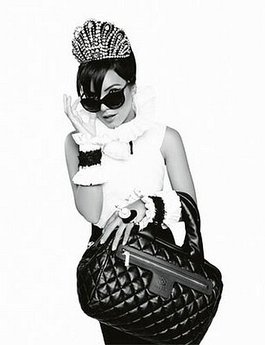 Lily Allen Goes Golightly for Fall 2009 Chanel Handbag Ads