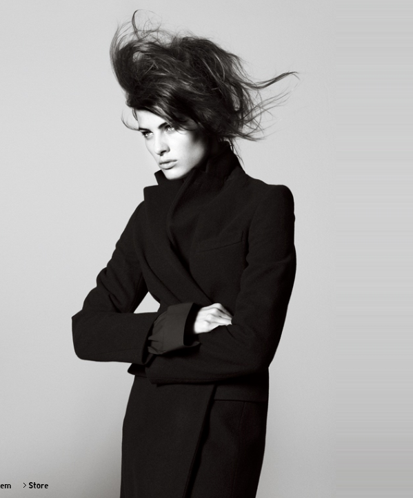 More Promotional Photos of Isabeli Fontana in Jil Sander's +J Line for Uniqlo
