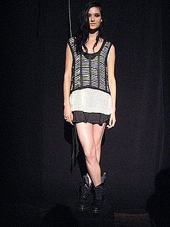 Anna Larson's Spring 2010 Debut Erro Collection Sticks to Shades of Gray, But Is Hardly Boring